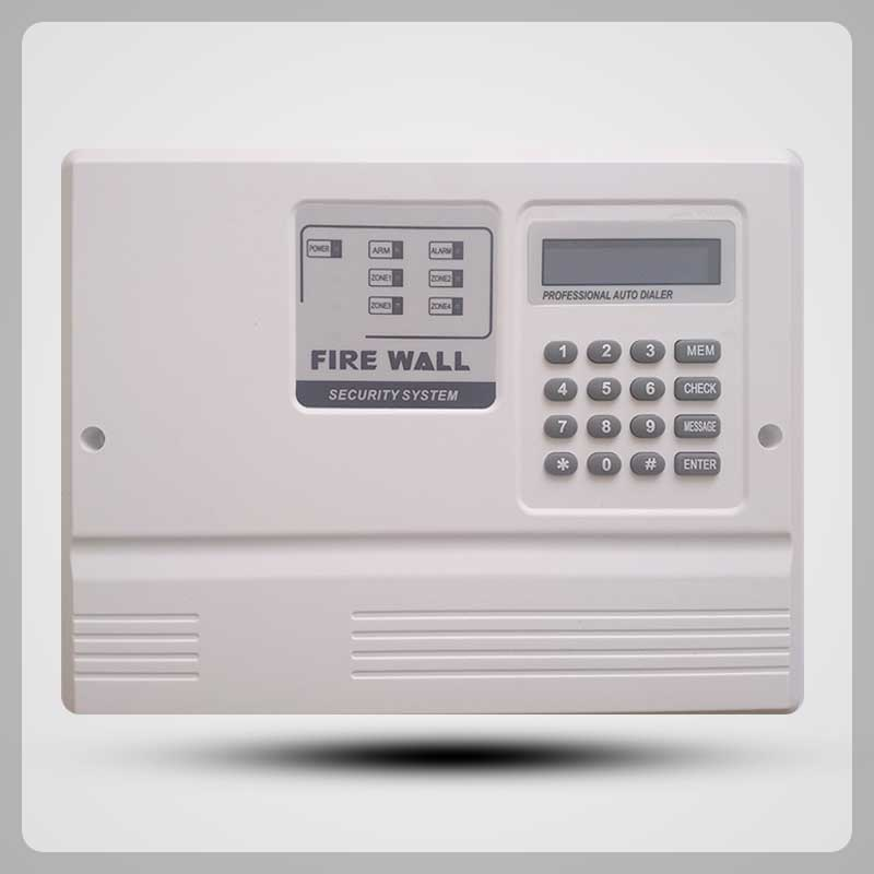 Firewall Alarm System with phone dialer