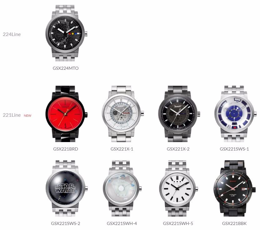 limited wristwatch GSX Japan popular wrist watch at reasonable prices , small lot order available