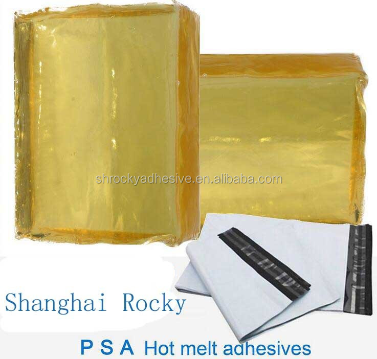 HM PSA hot melt glue for PE EMS courier bag express bag