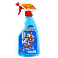 MR MUSCLE CLEAR Glass Cleaner PUMP 500ml | Indonesia Origin