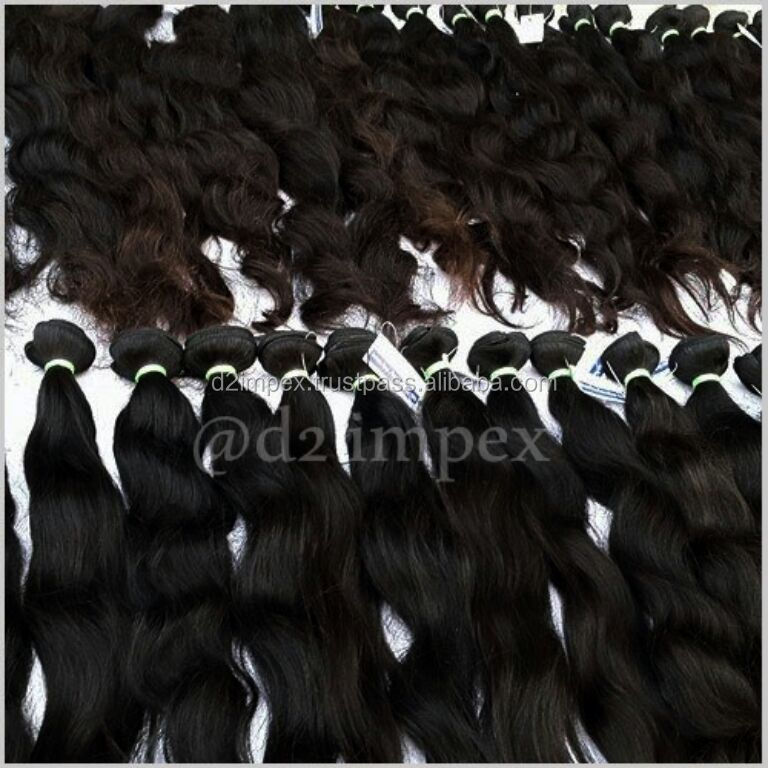 three head hair weft machine sew hair