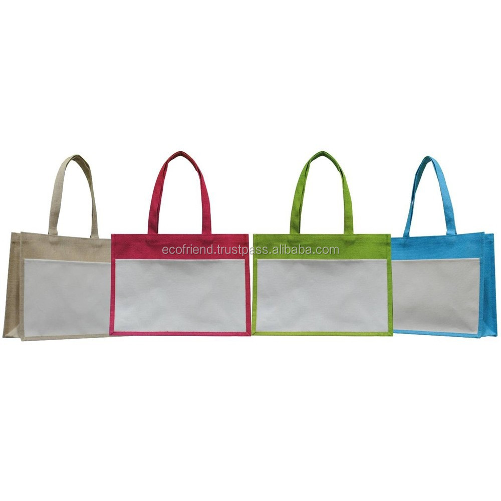 50pcs Jute Carrier Bag (B0300)