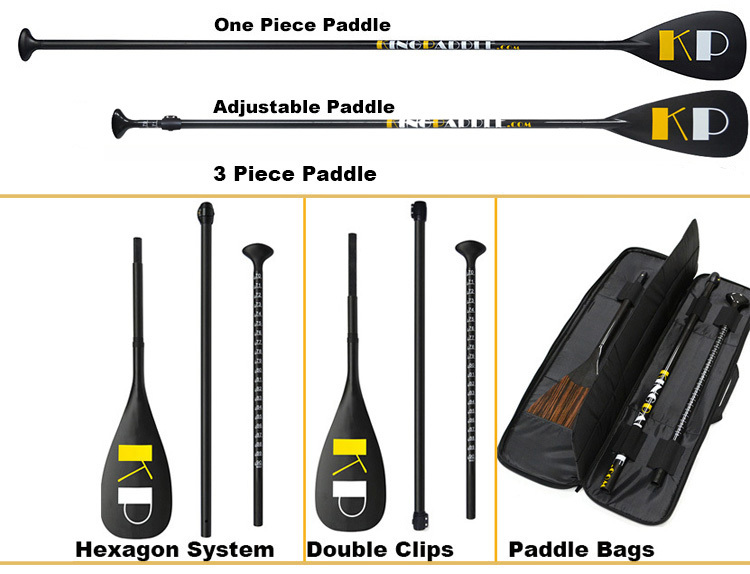 King Paddle High Quality Carbon Fiber Stand Up Paddle For SUP Board
