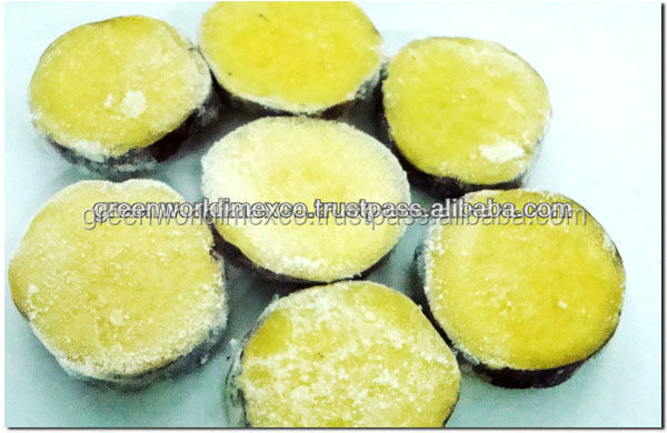 Frozen sweet potato slice, delicious, good for health for sale now