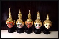 Khon masks and Home Decoration