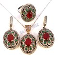 925 sterling silver set hurrem hatice kosem sultan ruby emerald sapphire turkish ottoman jewellery tv film serie roxelana