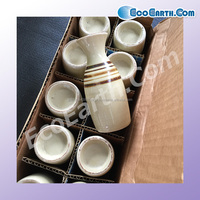 Second hand eco-friendly tableware in good condition for sale
