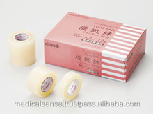 Skin-friendly tape, new medical disposable products made in Japan