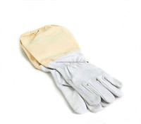 Beekeeping Gloves Cowhide Leather Bee Keeping Gloves, Kids & Adults Suits