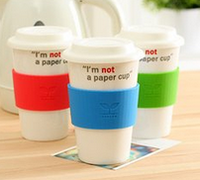 8oz 12oz 16oz disposable double wall paper coffee cup