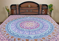 Beautiful Indian Mandal Tapestry / Mandala Wall Hanging Bed sheet