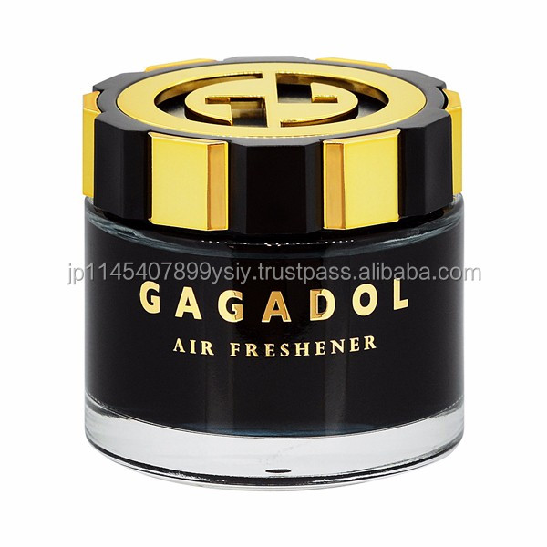 Stylish gel-type freshener car deodorant made in Japan , samples also available