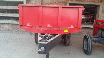 Pakistan High Quality Double axle trailer