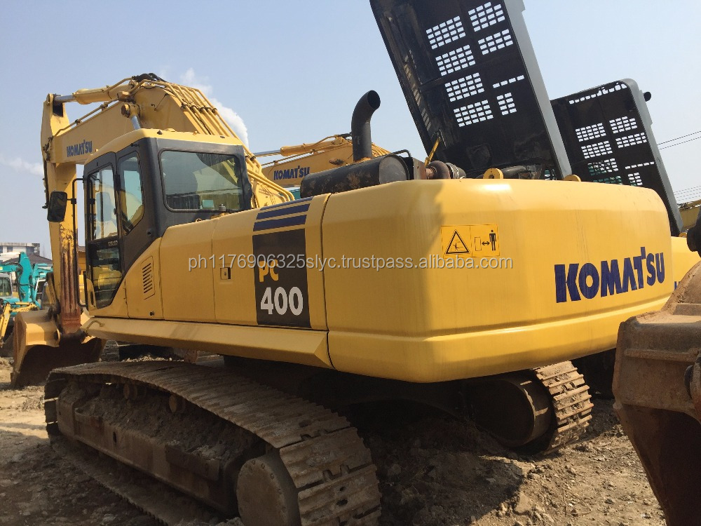 construction excavator,used/Second hand Komatsu excavator PC400 pc400-7 pc400-6, cheap price excellent condition