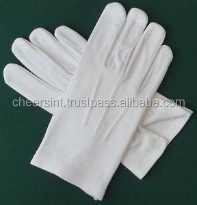 Masonic Coton Gloves