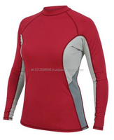2016 OEM service wholesale gym fashion womens running compression shirt