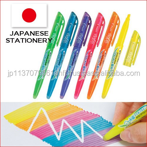Beautiful and Classic multi color marker pen color pen with erasable made in Japan