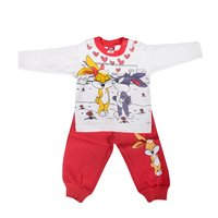 animal patterned sweat suits for children