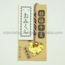 Japanese and Easy to use Lanyard Lucky zodiac netsuke with Long-lasting made in Japan