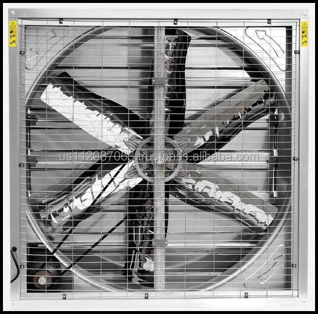 40 inch industrial exhaust fan with Siemens motor