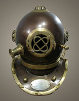 Nautical Diving Helmet, Diving Helmet, Diver Helmet