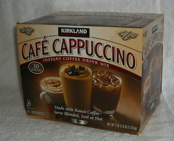 My Cappuccino 4-in-1 Grape Seed Extract Instant White Coffee