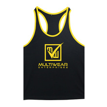 Custom Gym Tank Tops / Custom Singlets / Custom racer back singlet