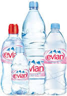 Evian Mineral Water 1.5L plastic bottle