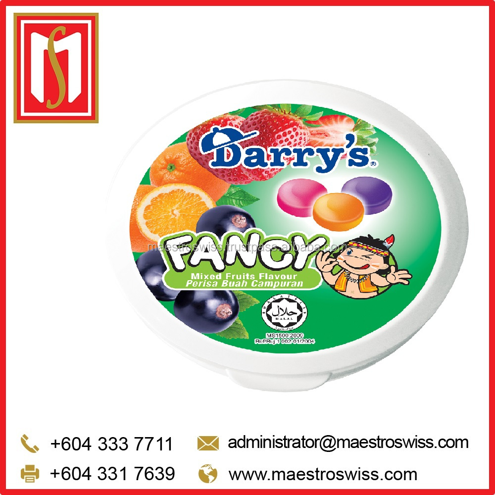 Manufacturing Price Darry's Fancy 40g Mixed Fruits