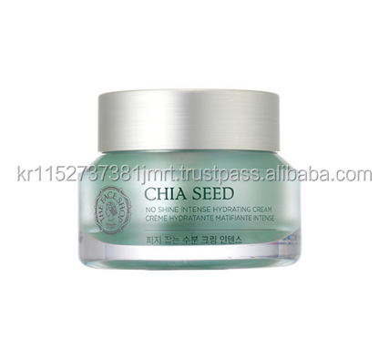 Korea Cosmetics The Faceshop CHIA SEED SEBUM CONTROL MOISTURE CREAM