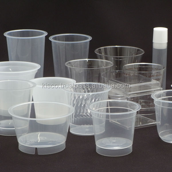 Various types of heat resistant clear plastic dessert cups meeting client's need