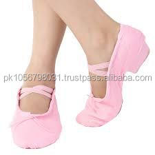 NEW 2 layers of full canvas ballet slippers shoes wholesale ballet footwear BALLET DANCE SHOES