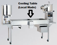 6ft Twin Stainless Steel Popping Table/ Cooling Table (Local Made)