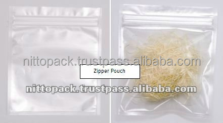 High quality and Various types of package pouch for chocolate chips with multiple functions made in Japan