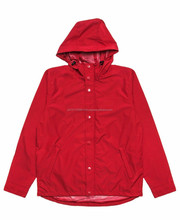 New Arrival Side Pockets 100% Nylon Men United Jacket with hood
