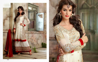 Designer party wear heavy brdail saree or normal wear suits and lehenga saree for this wedding season