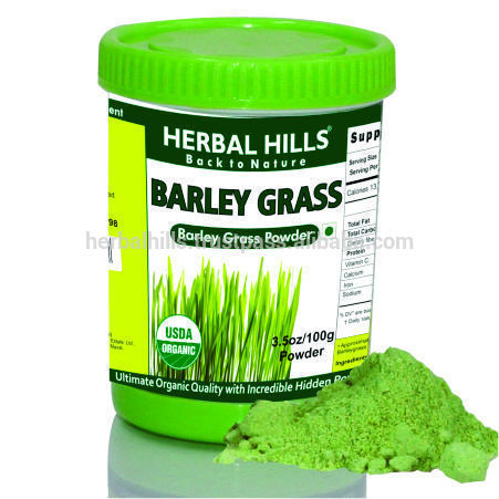 2016 Superfood Organic Barley Grass Powder