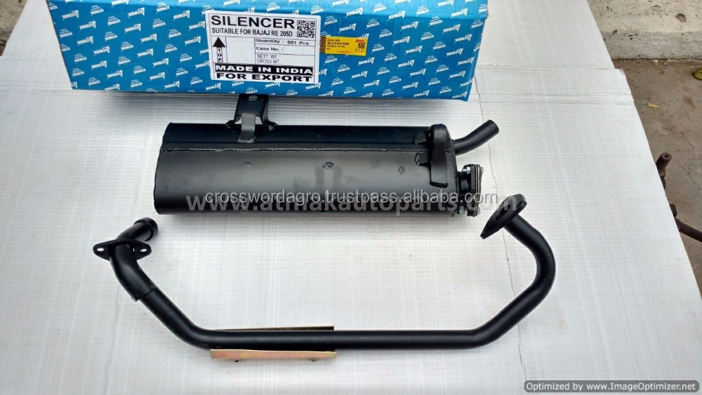SILENCER FOR BAJAJ 3 WHEELERS COMPACT - 4 STROKE