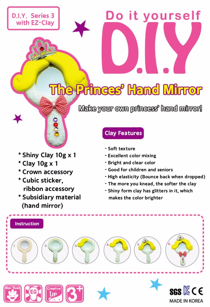 DIY Series with EZ Clay (The Princess Hand Mirror)