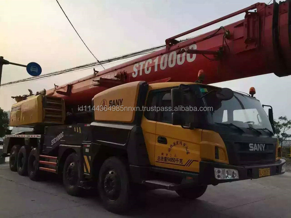 used Sany crane STC1000C Chinese truck crane 100 tons good performance hot sale in shanghai