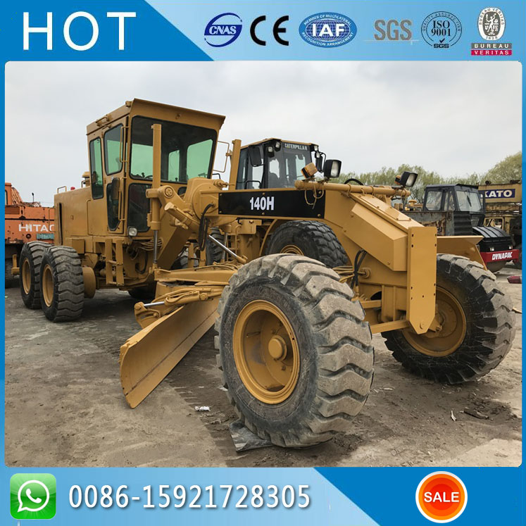 Caterpillar Used Road Machine 140H Cat Motor Grader For Sale