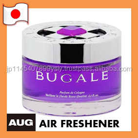 Stylish disposable gel air freshener for car made in Japan