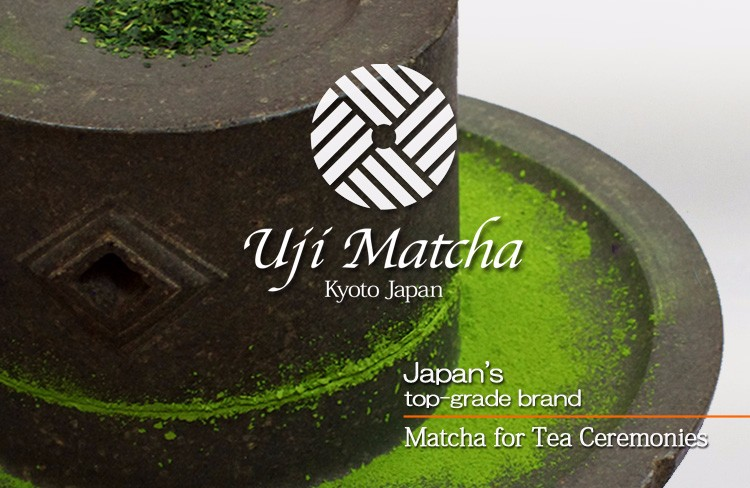 Kyoto Uji Matcha Japan's top-grade brand matcha for tea ceremonies and the No.1 market share matcha for confectioneries