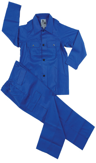 Jacket and Trouser Safety Uniform Cotton Pre-Shrink Fabric Construction Fast Color Al Baqeh Building Material