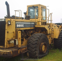 Used Caterpillar 980C Wheel Loader | Second-hand Cat Loader 980C for sale