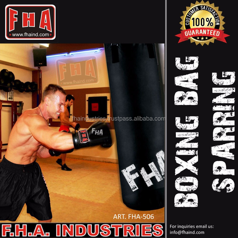 NEW Punching bag Sparring Boxing Bag Canvas Nylon Parachute Training Gym Bags by FHA INDUSTRIES