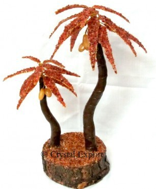 Carnellian Palm Tree-Wholesale of Gemstone Tree