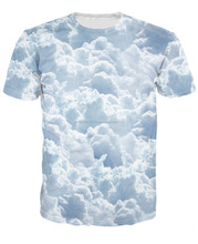 Sublimation Printing T-Shirts Real Rainy Weather Design Sublimation T Shirts/ Custom Design Sublimation Printed T Shirts