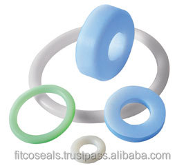 Rubber o rings with PTFE coating for auto seals Manufacturer