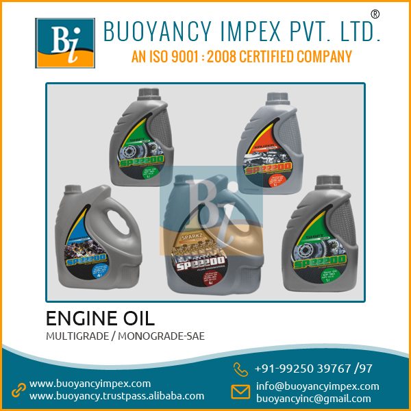 Genuine Supplier Supplying High Efficient Gasoline Engine Oil for Motor